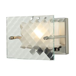 Elk Lighting 1 Bath Light Talmage Collection - Brushed Nickel