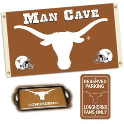 NCAA Texas Longhorns Man Cave Gift Pack
