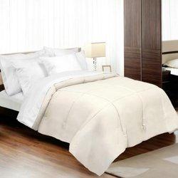 Veratex 1200TC Cotton Down Alternative Comforter - Ivory - Size: Full
