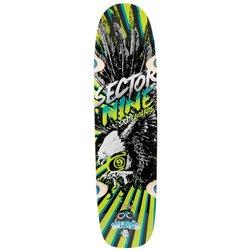 Sector 9 Budro Pro Deck Skateboard - Yellow (SPS153DYellow)