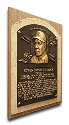 That's My Ticket Duke Snider Baseball Hall of Fame Plaque - Brown - Medium