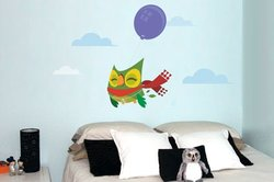 Surface Collective What a Hoot Wall Decal, Full Color