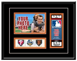 MLB San Francisco Giants 2010 NLCS Photo and Ticket Frame