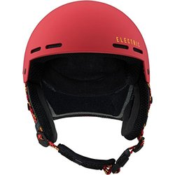 Electric Adult Saint Helmet, Matte Red/Yellow, Small