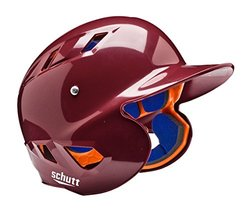 Schutt Sports Senior OSFM 3242 AIR 4.2 BB Batter's Helmet, High Gloss Maroon