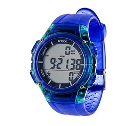 RBX Multifunction Digital Watch and Pedometer: Blue