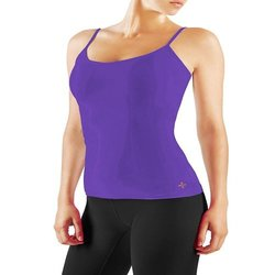 Tommie Copper Women's Charisma Camisole Tank Top - Plum - Size: Small