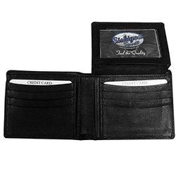 NHL Philadelphia Flyers Leather Bi-Fold Wallet - Black