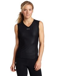 Gore Bike Wear Base Layer WindStopper Singlet - Sleeveless - Women's Black