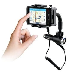 Naztech Universal Vehicle Mount & Charger for Smartphones (N4000-11202)