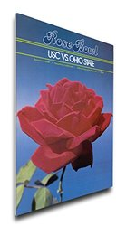 That's My Ticket NCAA USC Trojans 1980 Rose Bowl Canvas Program Cover