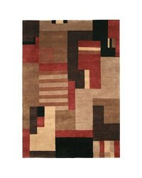 "Rizzy Home Forest Rug - Multi - Size: 3'5""x5'6"""