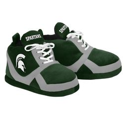 NCAA Michigan State Spartans 2015 Sneaker Slipper - Green - Size: Small