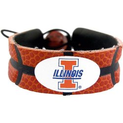 NCAA Illinois Illini Classic Basketball Bracelet