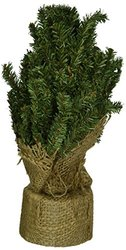 CWI Gifts Artificial Pine Tree with Burlap Base - Size: 12""