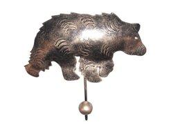 Cohasset 730 Single Bear Hook, Set of 3