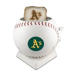 MLB Oakland Athletics Pangea Brands ProToast MVP Toaster - White