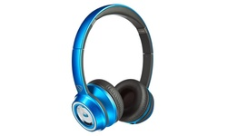 Monster NTune On-Ear Headphones with Microphone - Candy Blue