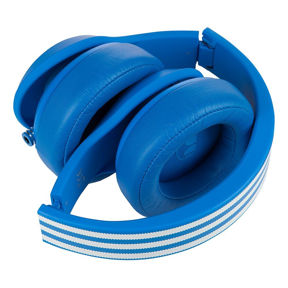 los angeles 44b44 3be95 ... Monster Adidas Originals Over Ear Headphones w  Microphone - Blue  (128553) ...