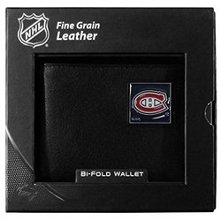 Siskiyou NHL Montreal Canadiens Leather Wallet Packaged - Gift Box - Black