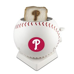 MLB Philadelphia Phillies Pangea Brands ProToast MVP Toaster, White