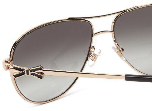 5ba73da6c5 ... Kate Spade New York Women s Circes Aviator Sunglasses - Black - 59 mm  ...