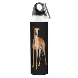 Tree Free I Heart Greyhounds Artful Traveler Stainless Water Bottle