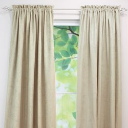 "Brite Ideas Living 54""x108"" Rod Pocket Curtain Panel - Oyster"