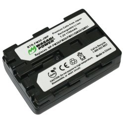Kinamax 1700mAh NP-FM50 Replacement Battery for Sony HVR-A1 - Premium Japanese Cells