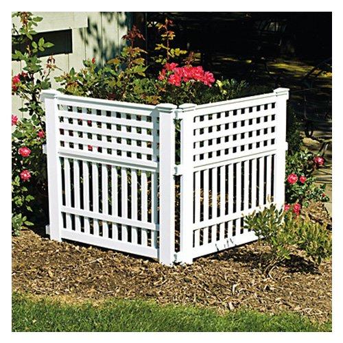 Suncast Gvf3232 Grand View In Resin Garden Fence