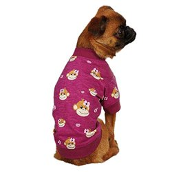 East Side Collection ZM3487 24 14 Monkey Business Tee for Dogs, X-Large, Tiff