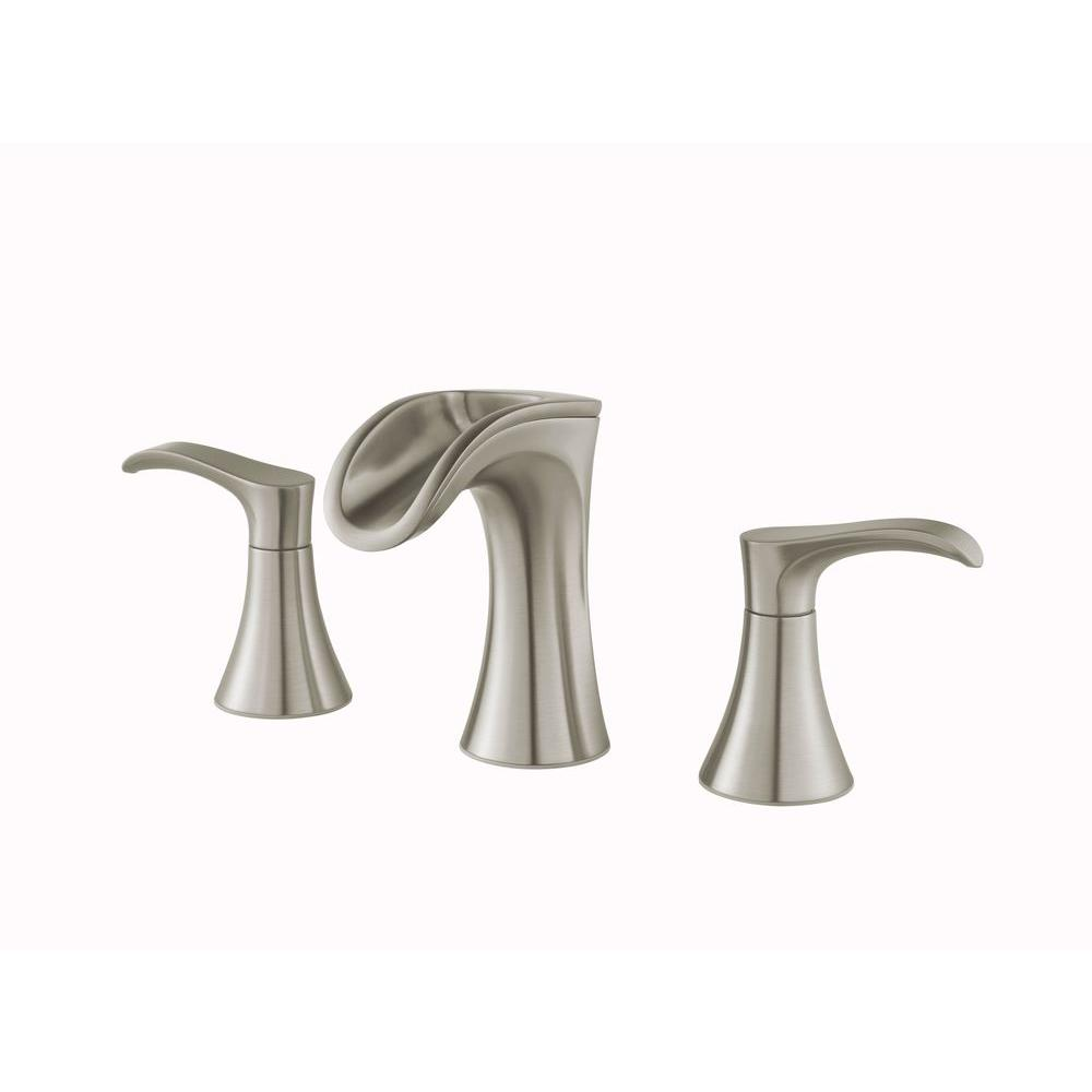 Pfister Brea 8 Widespread 2 Handle Waterfall Bath Faucet Brushed Nickel Check Back Soon Blinq