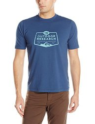 Outdoor Research Men's Bowser Tee, Small, Dusk