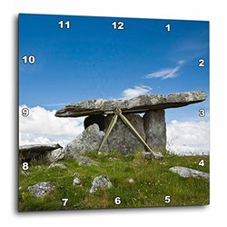 "Poulnabrone Stones Tomb 13"" Wall Clock (dpp_81973_2)"