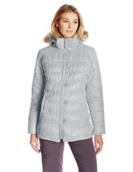 White Sierra Women's St. Helen's Jacket - Grey/Black - Size: Medium