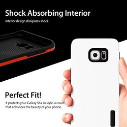 Araree Amy Fit Anti-Shock Back Case for Galaxy S6 Edge Plus - Chic White