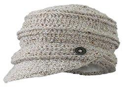 Screamer Women's Danica Knit Cap, Linen, One Size