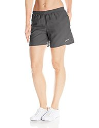 ASICS Women's Performance Run 5-Inch Pocketed Shorts, Steel, X-Small