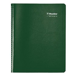 "Blueline Weekly/Monthly Acad Planner - Assorted - Size: 9.25"" x 7.25 """