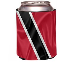 Rikki Knight Beer Can Soda Drinks Cooler , Trinidad and Tobago Flag Design
