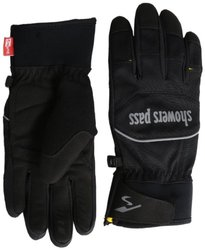 Showers Pass Crosspoint Softshell Gloves - Black - Size: Small