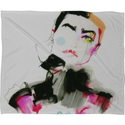 DENY Designs Marta Spendowska Beauty 4 Fleece Throw Blanket, 50 x 60