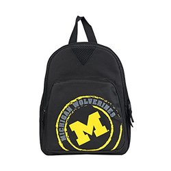 NCAA Michigan Wolverines Offense Mini Backpack - Black