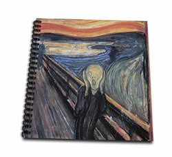 3dRose db_130172_1 The Scream by Edvard Munch Drawing Book, 8 by 8""