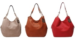 MKF Collection Aileen Shoulder Bag - Red - Size: One Size