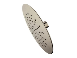 "Satin Nickel NuVo 7"" Rain Shower Head with 2.0 GPM Water Flow Rate"