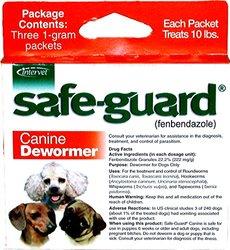 Merck Animal Health Safe-Guard Canine Dewormer - 1 GM