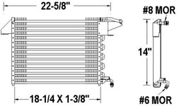 American Condenser by Vista-Pro A/C Condenser (1032350)