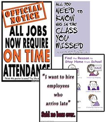 #S6 Poster Set Improves Student Attendance Truancy and Punctuality Problems