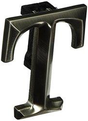 Monogram Letter T Door Knocker - Nickel Silver